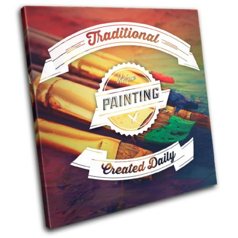 Painting Typography Hobbies - 13-6044(00B)-SG11-LO